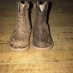 Newborn roper cowboy boots